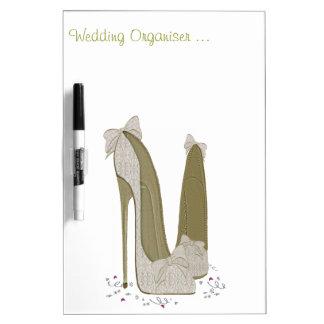 結婚式の小剣は芸術に蹄鉄を打ちます ホワイトボード