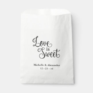結婚式の引き出物のバッグ-愛は甘いです フェイバーバッグ