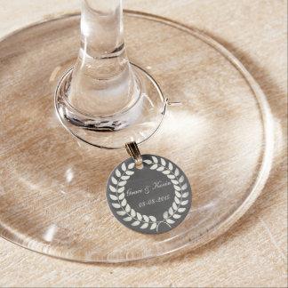 結婚式の引き出物のワインチャーム