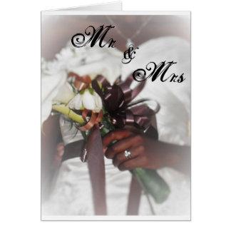 結婚式の招待状 カード