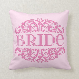結婚式の枕花嫁の結婚式のテーブルの枕ピンク クッション