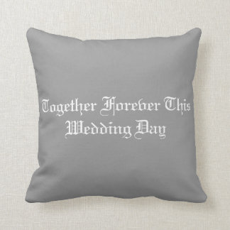 結婚式の枕 クッション
