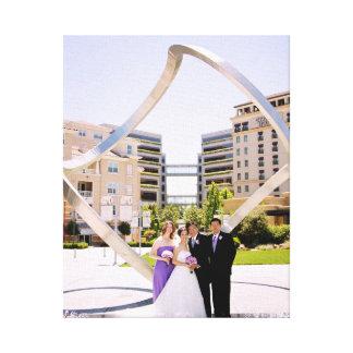 結婚式の無限 キャンバスプリント