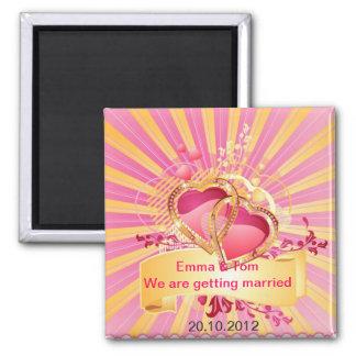 結婚式の磁石 マグネット