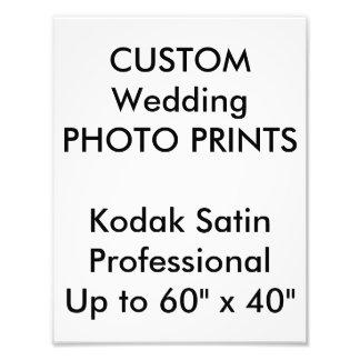 """結婚式の習慣8.5""""はx11""""専門の写真印刷します 写真プリント"""