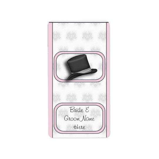 結婚式の花嫁のHersheyの小型キャンディーの包装のラベル ラベル