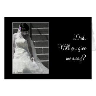 結婚式の花嫁 カード