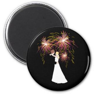 結婚式の花火 マグネット
