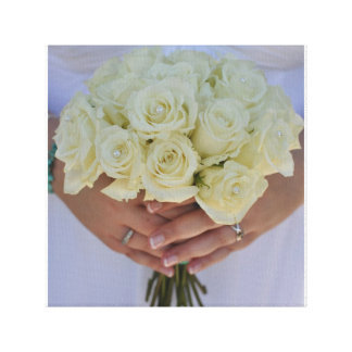 結婚式の花 キャンバスプリント