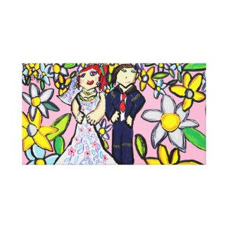 結婚式の芸術2 キャンバスプリント