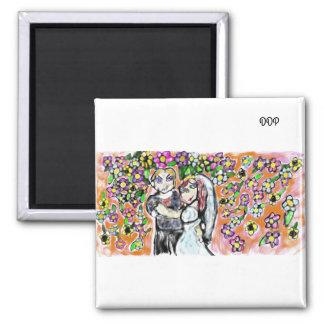 結婚式の芸術4 磁石