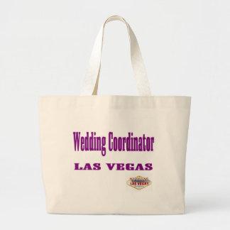 結婚式の調整者のラスベガスのクラシックなトートバック ラージトートバッグ