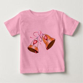 結婚式の鐘 ベビーTシャツ