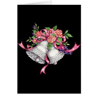 結婚式の鐘、結婚式の招待状 カード