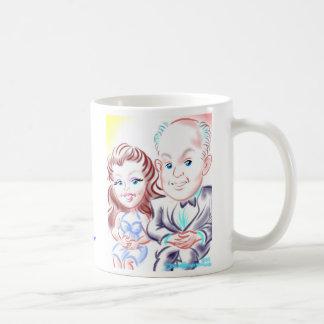 結婚式の風刺漫画のマグ8-12c コーヒーマグカップ