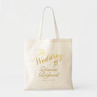 結婚式の… (名前をカスタムする) トートバッグ