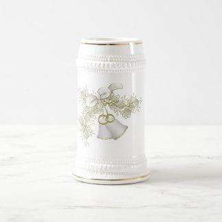 結婚式の/Anniversaryのギフトのマグ ビールジョッキ