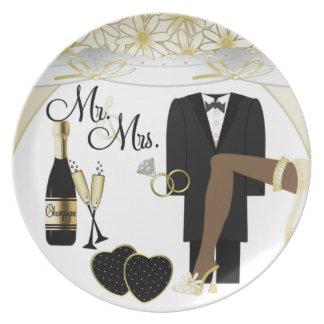 結婚式の/Anniversaryのプレート プレート