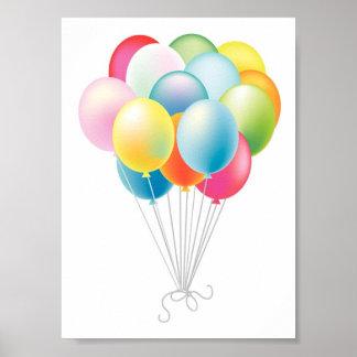 結婚式は束を風船のようにふくらませます ポスター