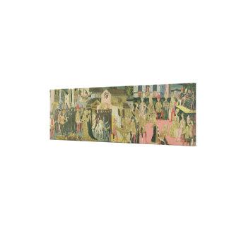 結婚式はcassoneのパネル、Florenで絵を描きました キャンバスプリント