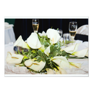 結婚式または記念日の招待状 カード