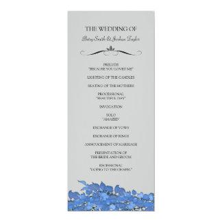 結婚式プログラム カード