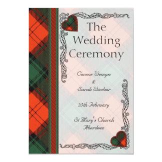 結婚式プログラム -- Athollのステュワート カード