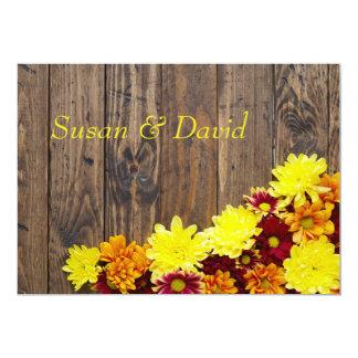 結婚式招待状--秋の結婚式 カード