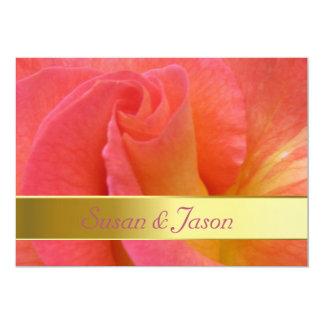 """結婚式招待状--""""謝肉祭""""は上がりました カード"""