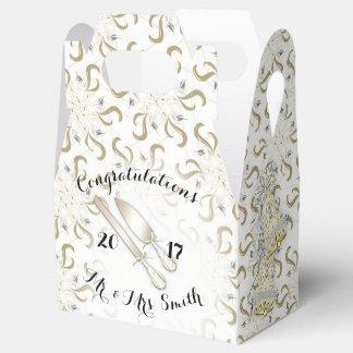 結婚式箱の切り妻 フェイバーボックス