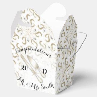 結婚式箱は取ります フェイバーボックス