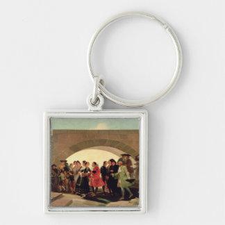 結婚式1791-92年 キーホルダー