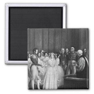 結婚式 磁石