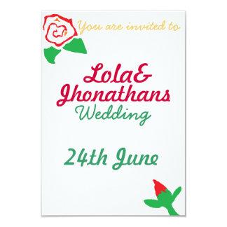 結婚式Invertation カード