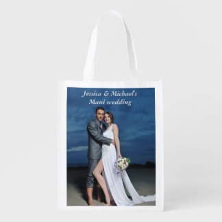 結婚披露宴のギフトバッグ エコバッグ