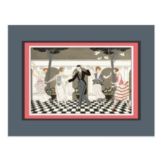 結婚披露宴のゲーム ポストカード