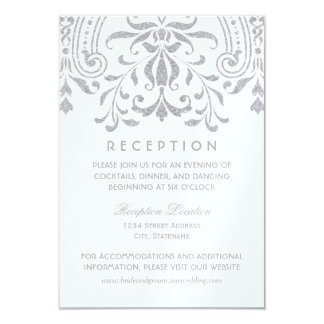 結婚披露宴カード|銀製のヴィンテージの魅力 カード
