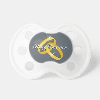 結婚指輪の持参人のためのRingbearerの赤ん坊の調停者 おしゃぶり