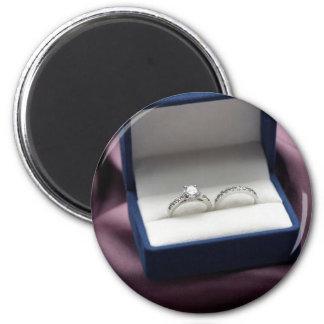 結婚指輪セット 冷蔵庫マグネット