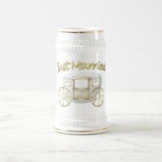 結婚祝いのマグ ビールジョッキ