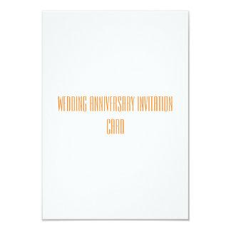 結婚記念日の招待カード 8.9 X 12.7 インビテーションカード