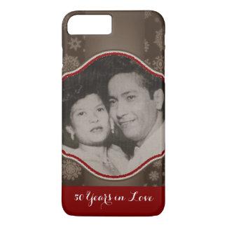 結婚記念日の電話箱 iPhone 8 PLUS/7 PLUSケース