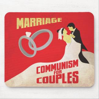 結婚: カップルのための共産主義 マウスパッド