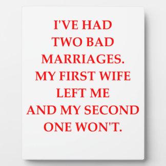 結婚 フォトプラーク