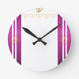 結婚 ラウンド壁時計