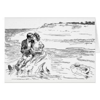 -結婚、ロマンス結婚式潮の回転 カード