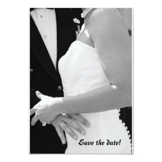 結婚: 日付を救って下さい カード