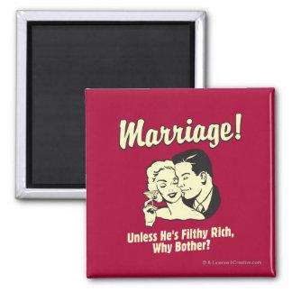 結婚: 迷惑なぜ 磁石
