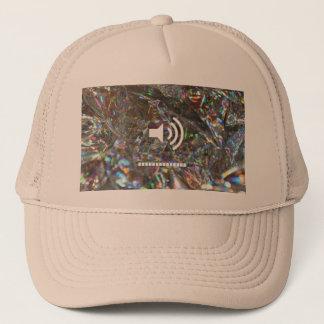 結晶化させた帽子 キャップ