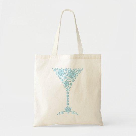 結晶 カクテルグラス tote bag トートバッグ